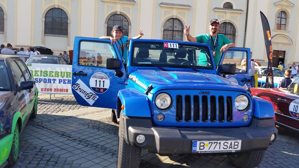 Tulceanca Maria Pohariu, cel mai tânăr copilot la Sibiu Rally Challenge