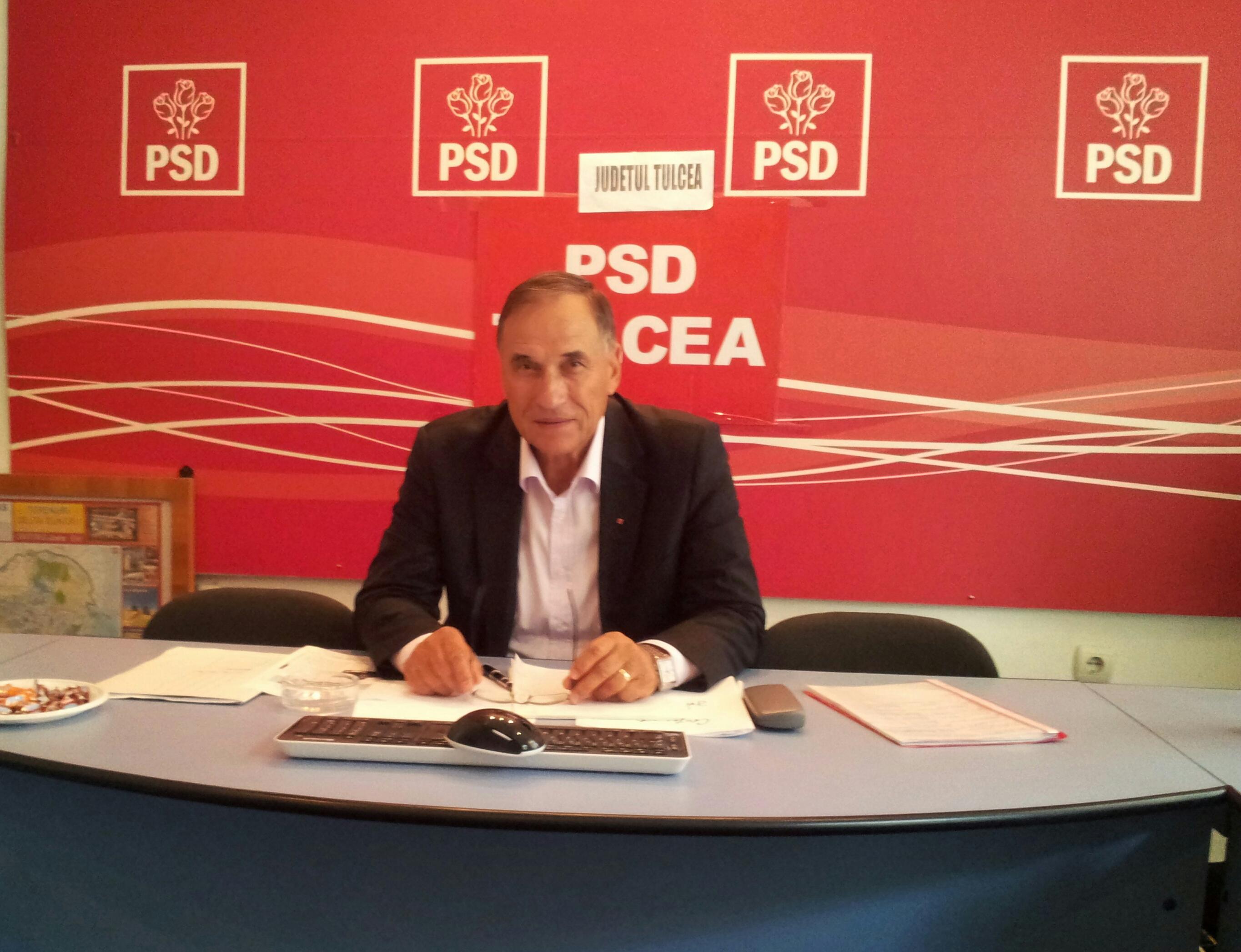 PSD face planuri de guvernare în Delta Dunării