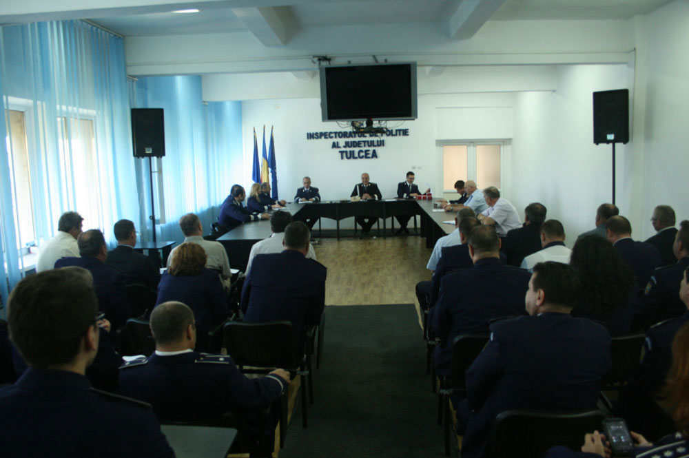 Avansări în grad la Inspectoratul de Poliţie Judeţean Tulcea