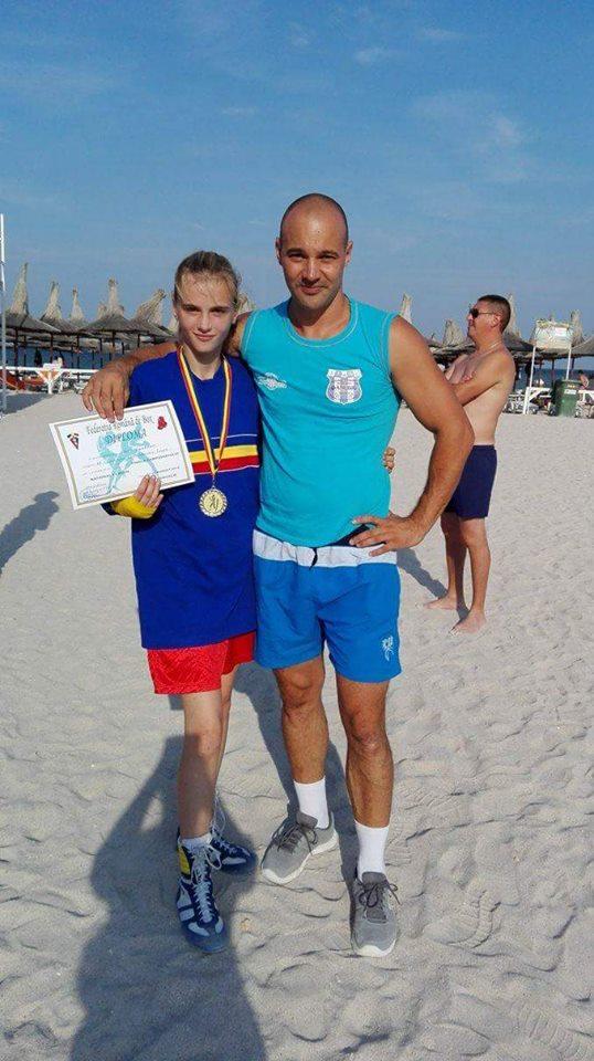 Tulceanca Georgiana Balcă, la Campionatul European de Box