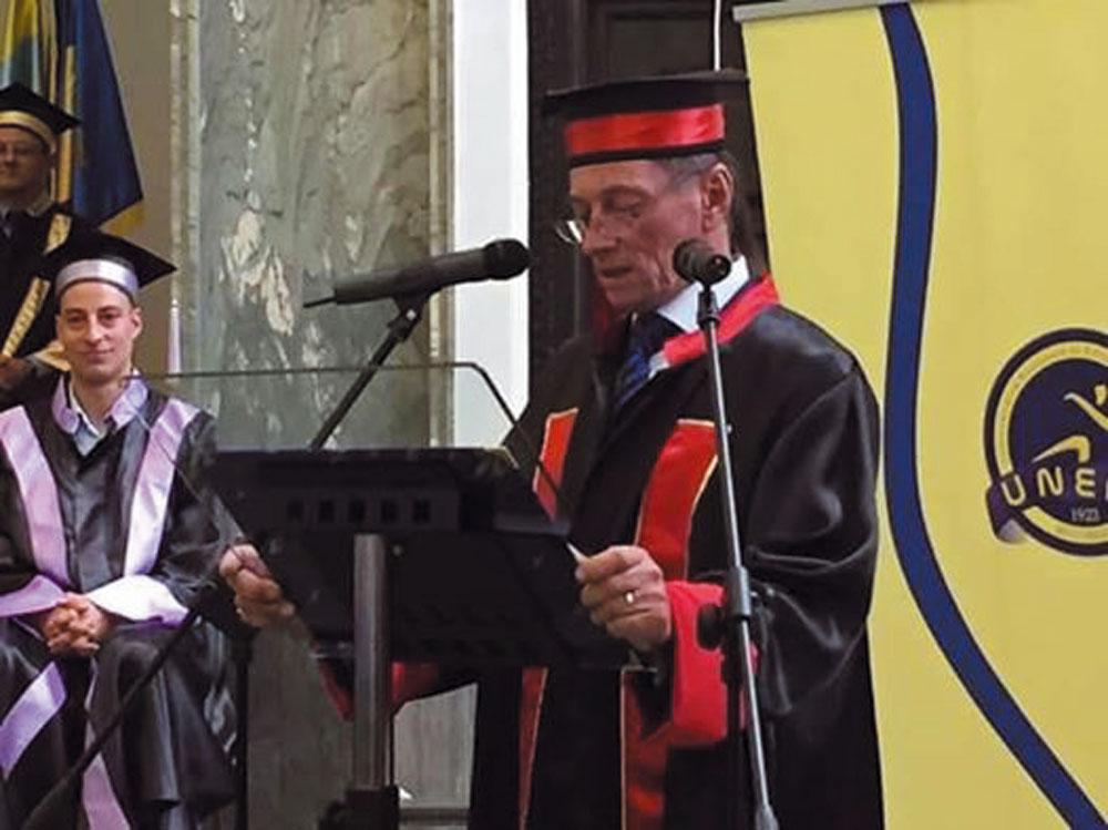 Ivan Patzaichin a primit titlul de Doctor Honoris Causa