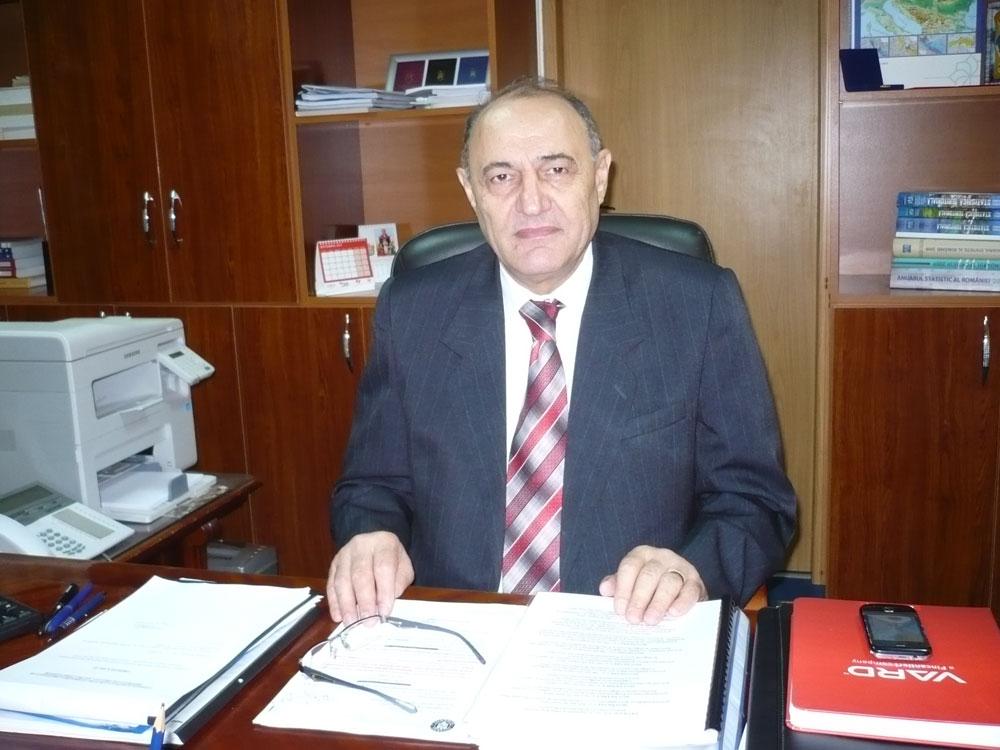 Prefectul Marin Bădiţă, la final de mandat
