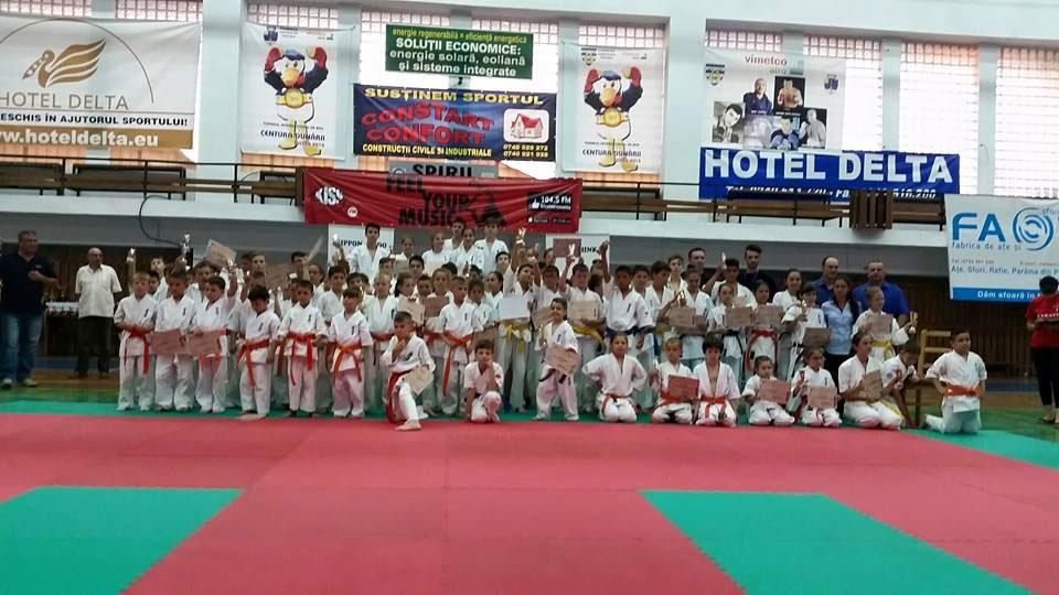 Interes internaţional pentru Campionatul European de Karate Kyokushin ce se va desfăşura la Tulcea