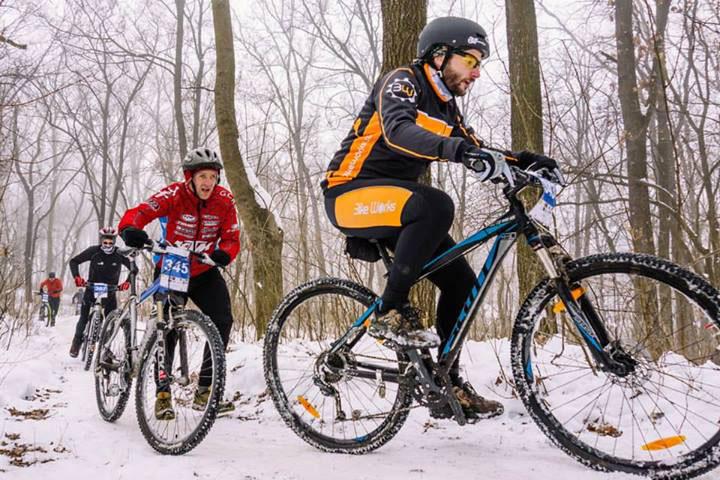 Pelican Bike pregăteşte ceva special, ciclism pe gheaţă la Tulcea