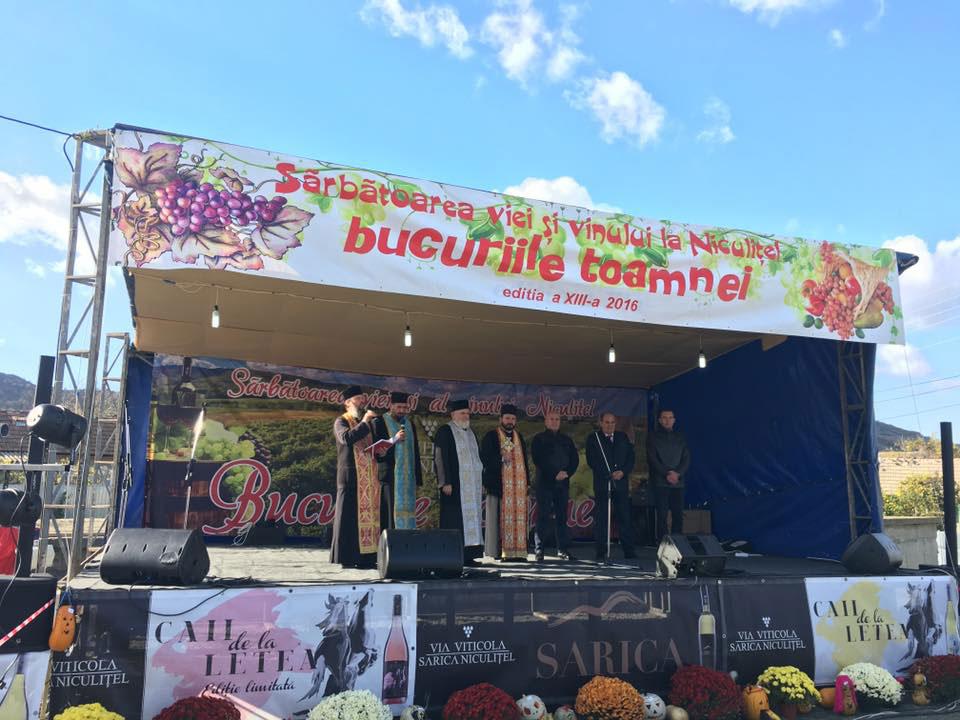 """Cea de-a XIII-a ediţie a """"Sărbătorii viei şi vinului"""", un succes pentru organizatori"""