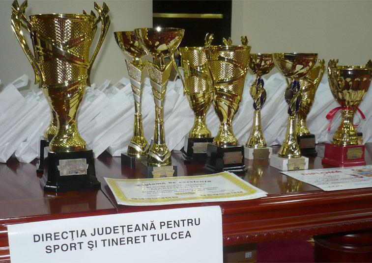 DJST Tulcea premiază cei mai buni sportivi din 2016