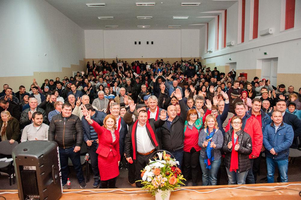 Ion Eugen rămâne la Primărie, în Parlament merge Anişoara Radu