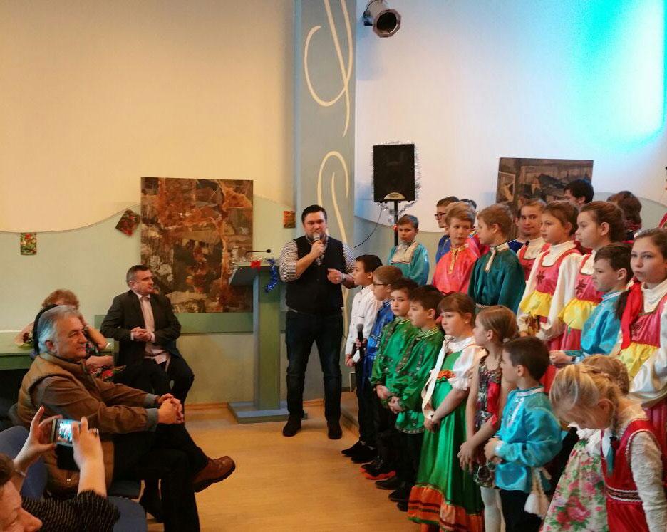 Mare sărbătoare la sediul Comunităţii Ruşilor Lipoveni, de Anul Nou şi Sfântul Vasile cel Mare