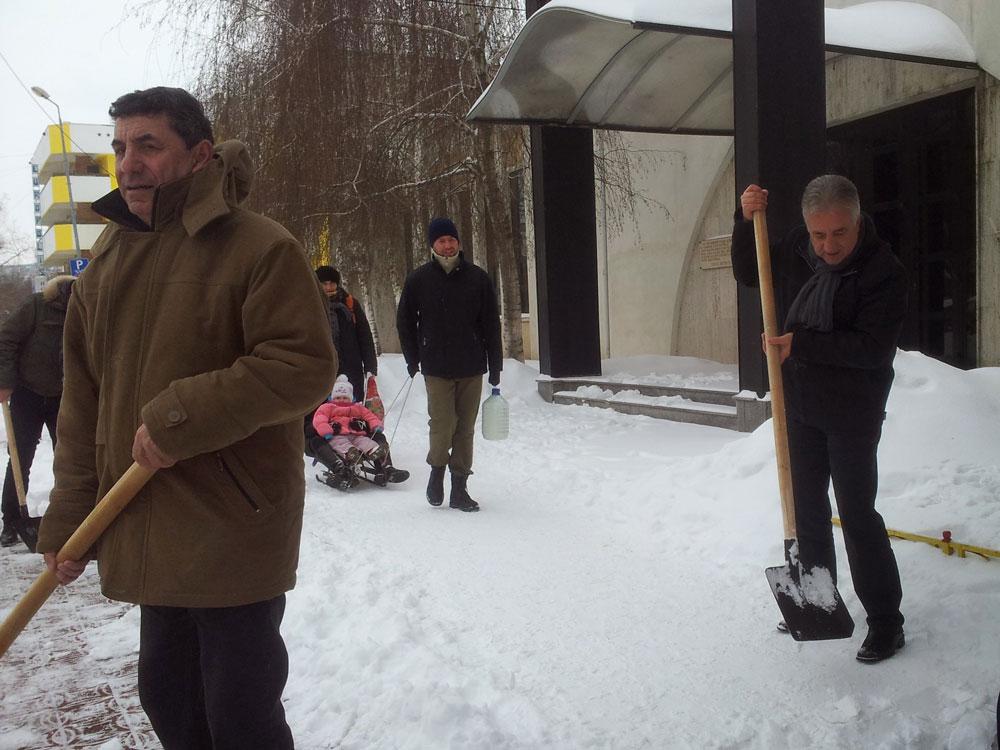 Primarul Hogea despre deszăpezirea din municipiu: Nu a fost nici mai bine, nici mai rău decât în anii trecuţi!