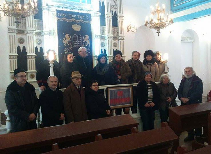 Victimele Holocaustului, comemorate la Tulcea