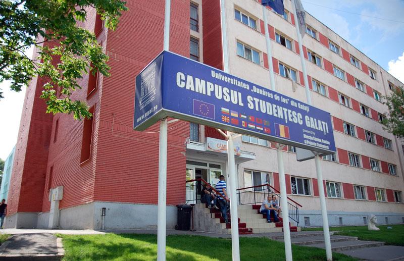 """În campusurile studenţeşti din Universitatea  """"Dunărea de Jos"""" din Galaţi mănânci şi dormi ca acasă!"""