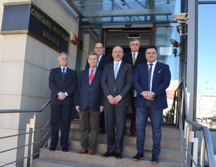 Ambasadorul Poloniei, Marcin Wilczek, în vizită la Tulcea