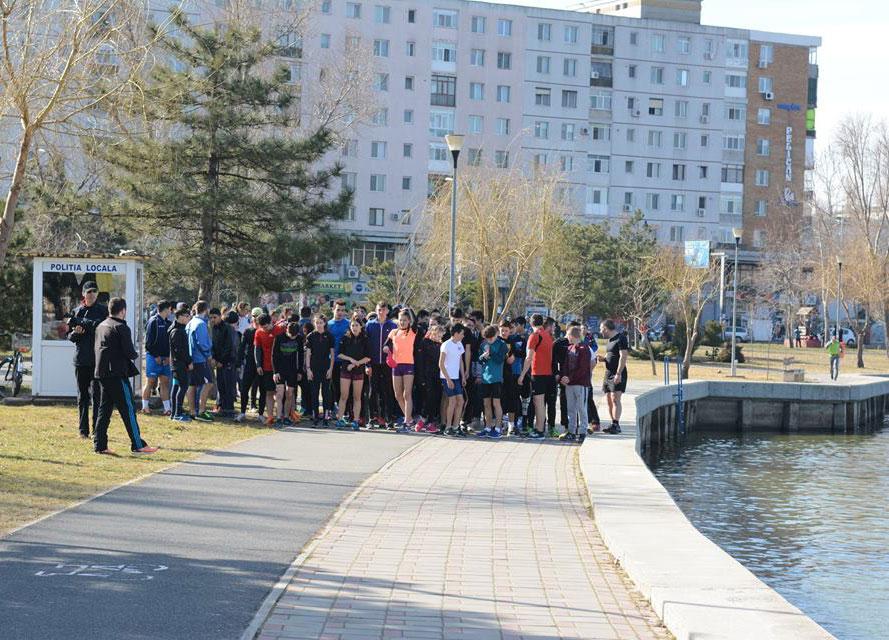 Cu chef de mişcare: peste 200 de participanţi la Crosul Mărţişorului