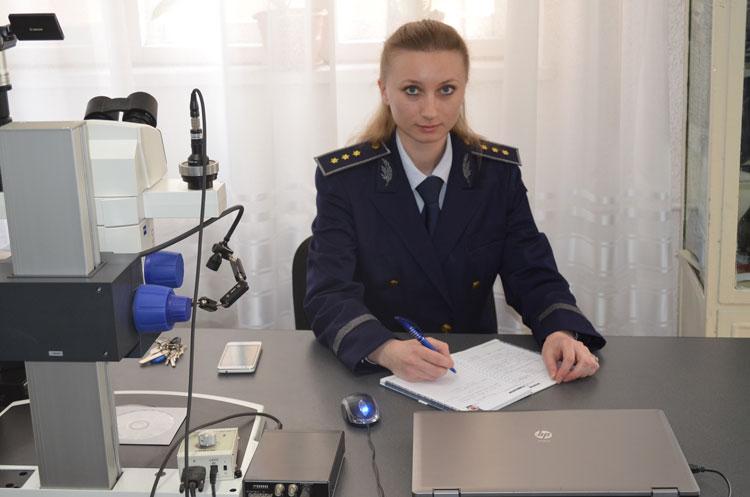 Oniţa Martianov, poliţista care ne păzeşte frontiera