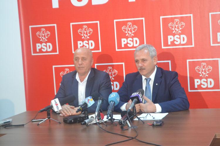 Preşedintele Dragnea acuză Secţia Drumuri Naţionale Tulcea  de blocarea investiţiilor în infrastructura locală