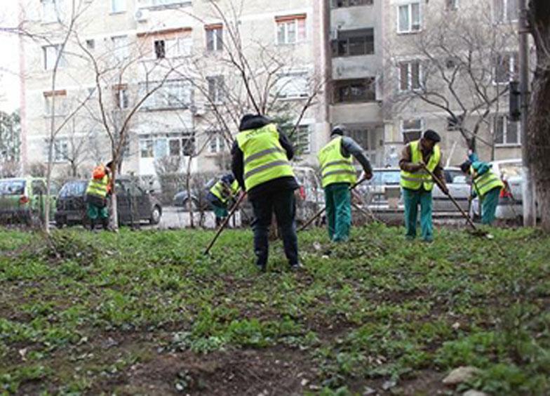 Primăria Tulcea a dat startul curăţeniei de primăvară