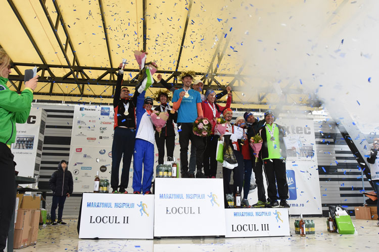 Tulceanca Nicoleta Ciortan, pentru a treia oară consecutiv câştigătoare la Maratonul Nisipului