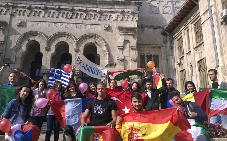 """Universitatea """"Dunãrea de Jos"""" din Galaţi are peste 150 de acorduri Erasmus încheiate cu universitãţi din 21 de ţãri UE şi una NON-UE (Turcia)"""