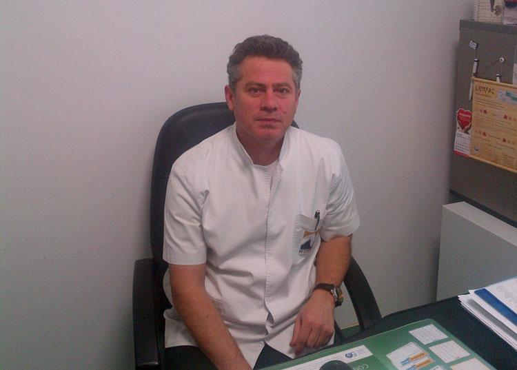 Preşedintele Patronatului Medicilor de Familie, dr. Cristea Jorj