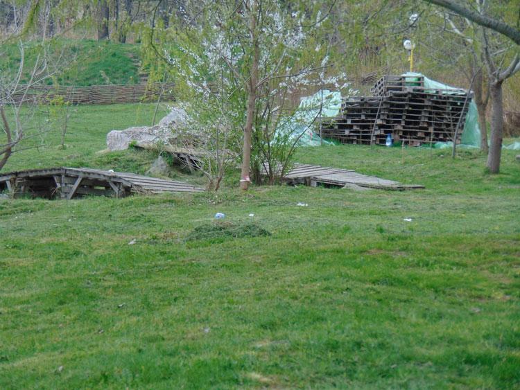 De Paşte, tulcenii au liber la grătare în zona de picnic a oraşului