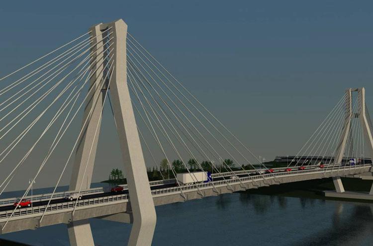 Podul peste Dunăre, aproape de faza de licitaţie. Lucrarea ar putea fi atribuită până la finalul anului