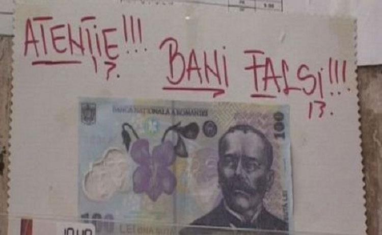 Bani falşi pe piaţa din Tulcea. Crima Organizată a intrat pe fir