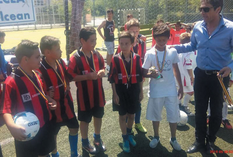 Fotbal junior – Cupa 1 Iunie pe stadionul municipal Delta
