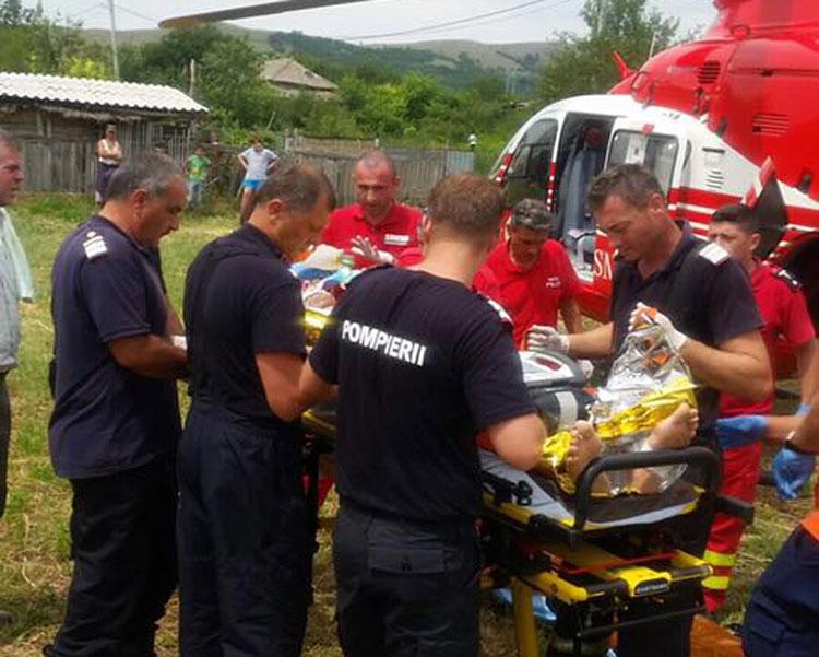 Balabancea: Explozie puternică la un comerciant de butelii soldată cu cinci victime