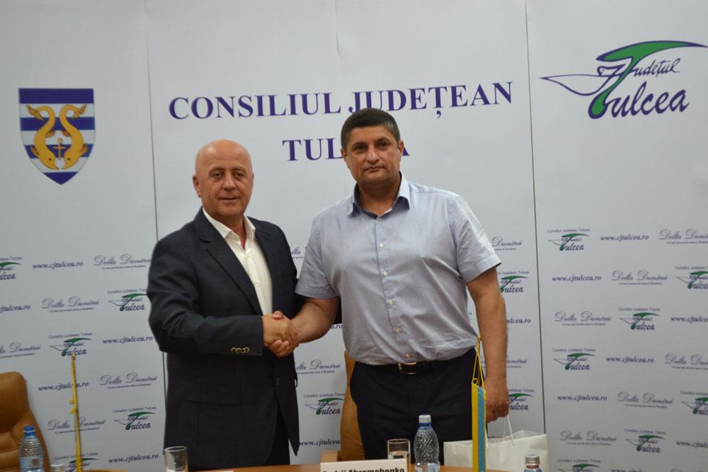 Delegaţie din Izmail, în vizită în judeţul Tulcea