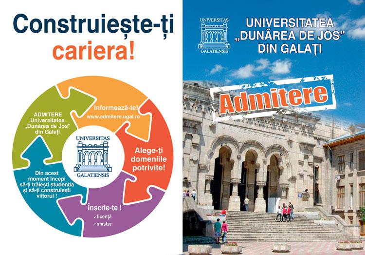 """Universitatea """"Dunărea de Jos"""" din Galați scoate la concurs aproape 1.750 de locuri la buget pentru absolvenții de bacalaureat"""