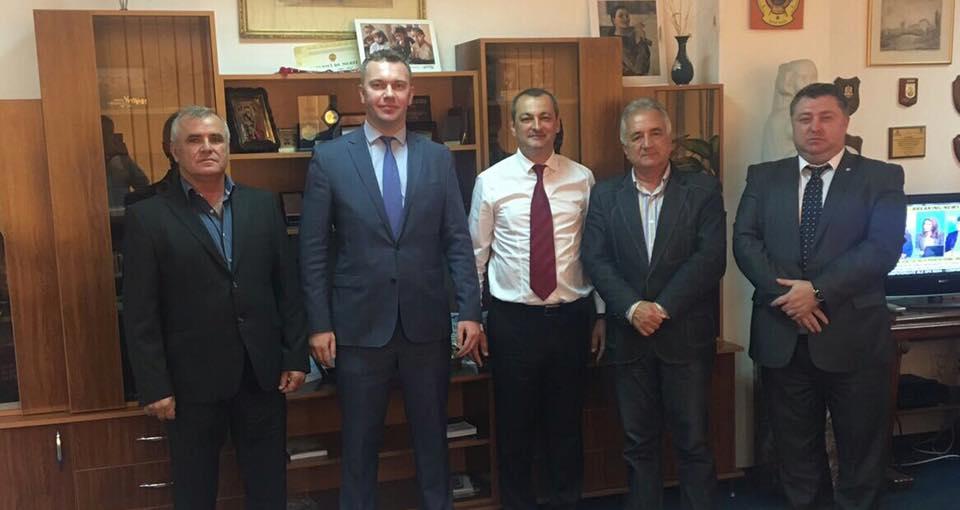 Ambasadorul Ucrainei, Oleksandr Bankov, în vizită la Tulcea