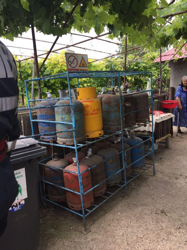 Comercianţii de butelii ne pot arunca în aer oricând: puncte de desfacere fără autorizaţie de securitate la incendiu