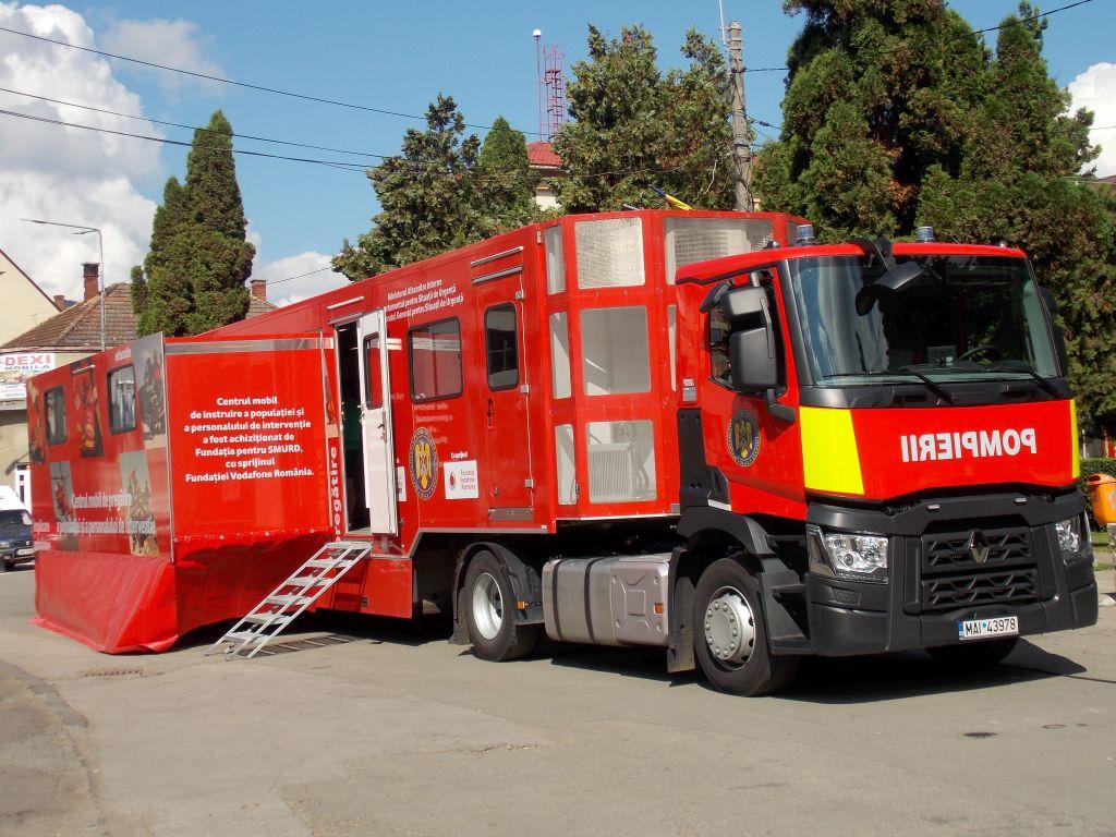 Caravana SMURD ajunge astăzi la Tulcea – cursuri de prim ajutor în Piaţa Civică