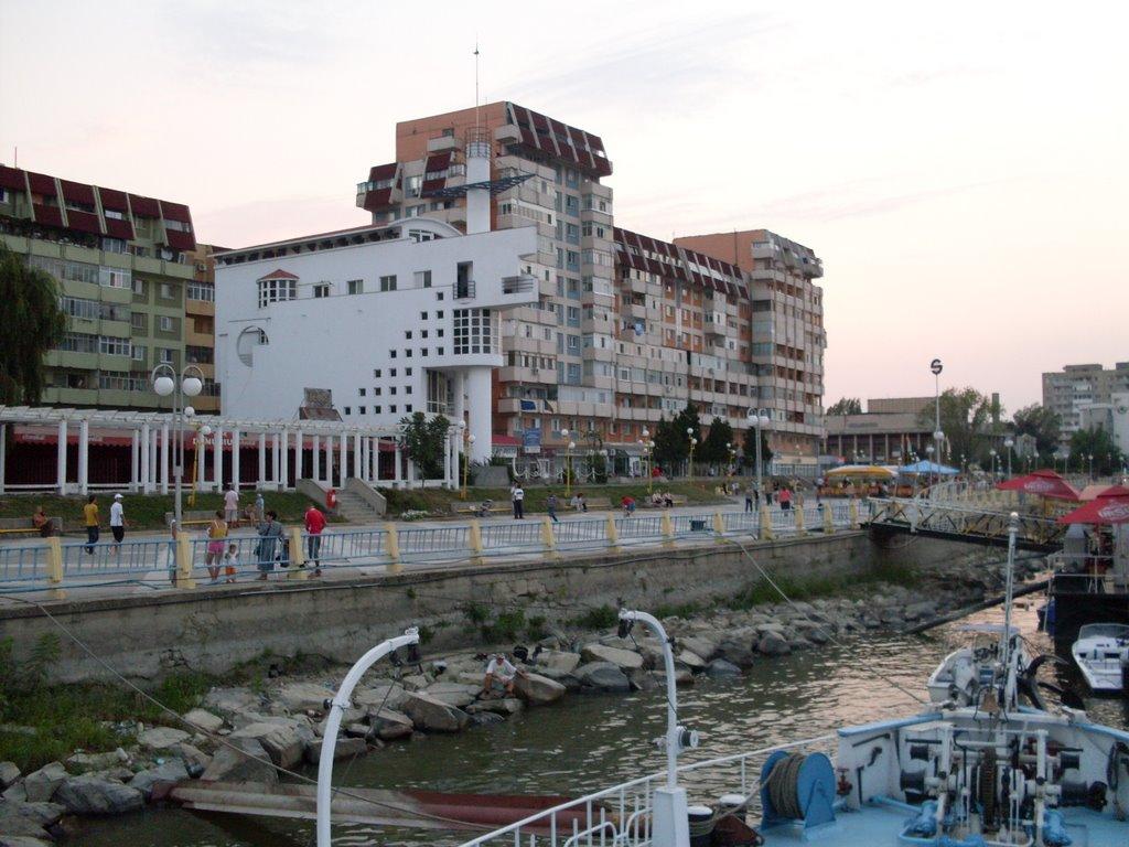 S-a creionat modul în care va arăta Portul Tulcea
