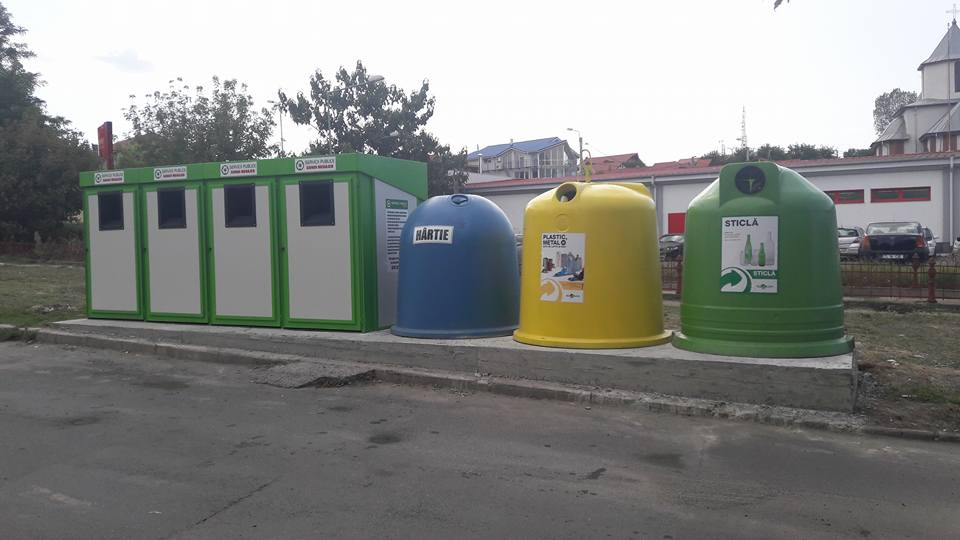 În Tulcea a fost amenajat primul punct de colectare a deşeurilor menajere