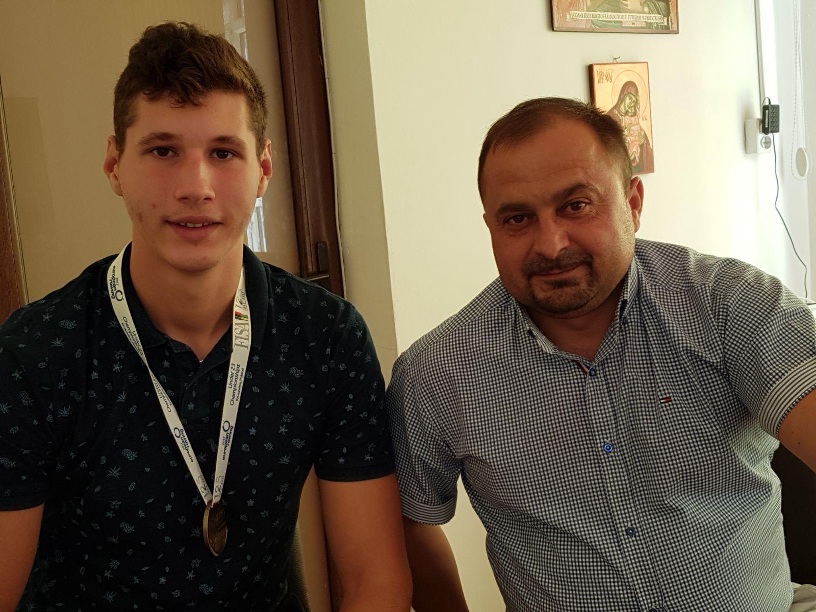 România, pe primul loc la Europenele U23 de canotaj