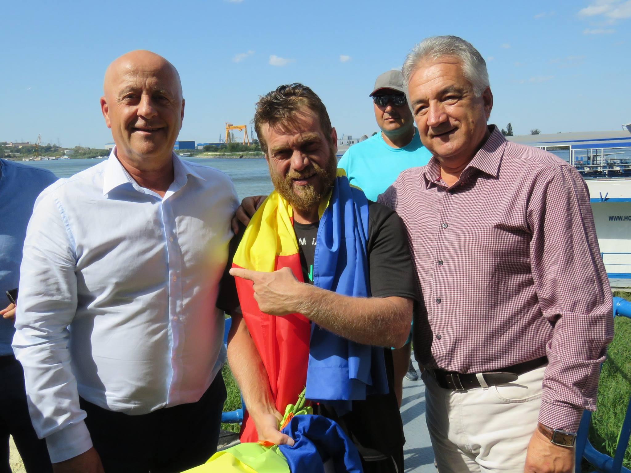 Înotătorul Avram Iancu: Tulcea arată mai bine de pe Dunăre decât Viena!