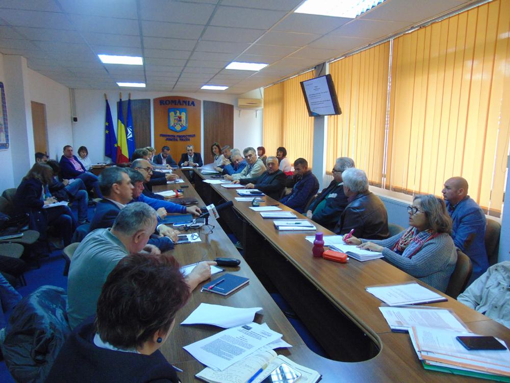 Ministrul Consultării Publice şi Dialogului Social, Gabriel Petrea, în vizită de lucru la Tulcea