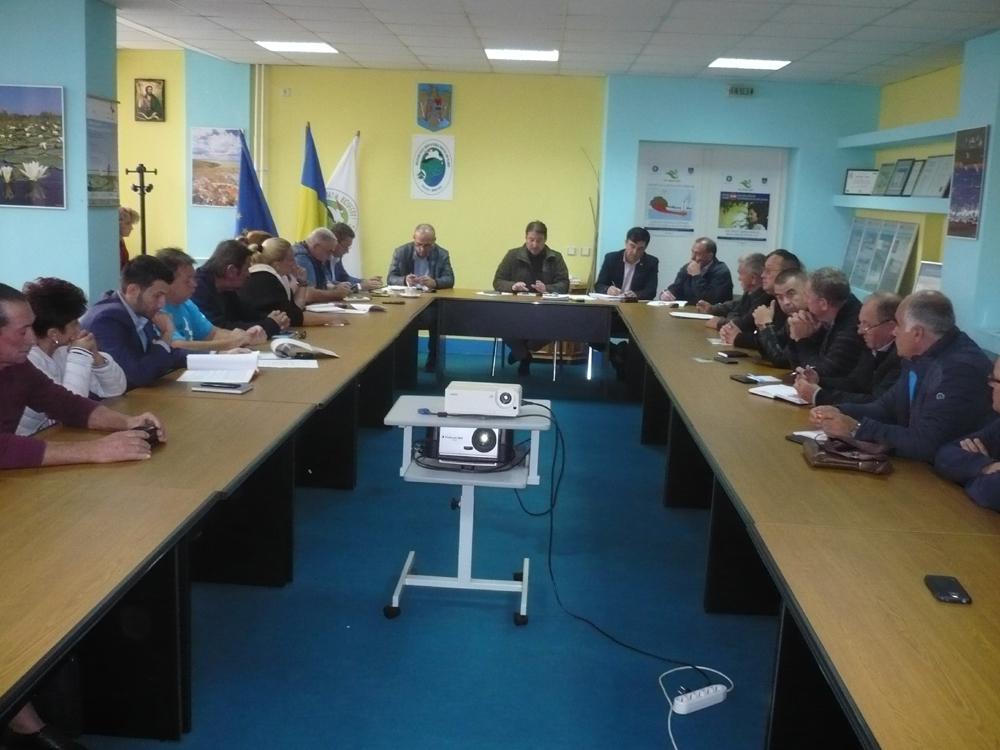 Consultarea cu ONG-urile şi primarii din Delta Dunării la ARBDD