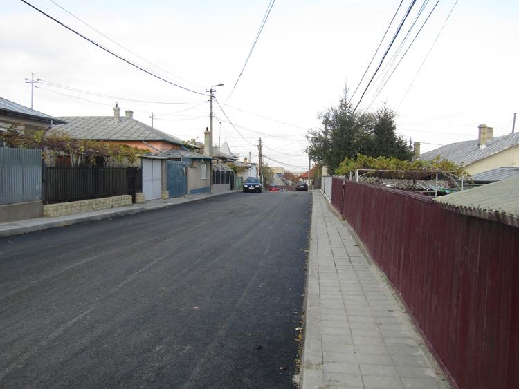 Opt străzi beneficiază de infrastructură rutieră complet reabilitată