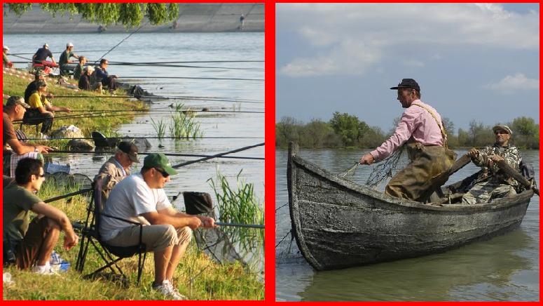 Război total între pescarii sportivi şi profesionişti!