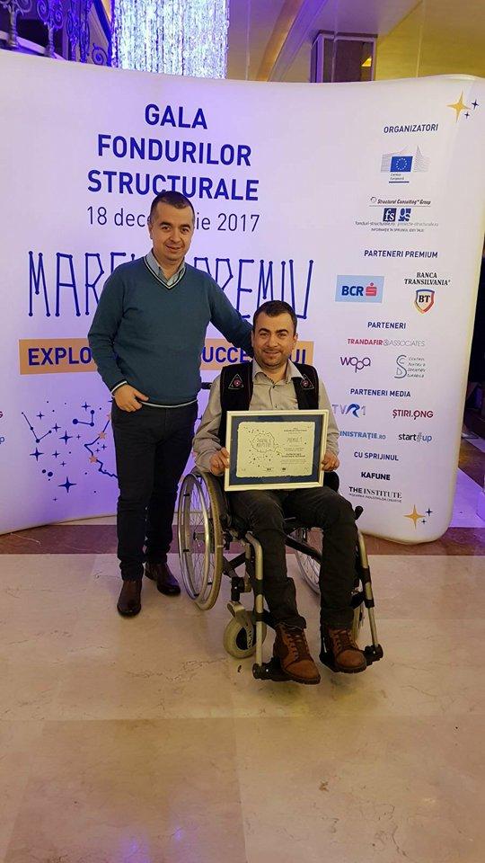 Luncăviţeanul Marian Ilie, premiul I la Gala Fondurilor Structurale