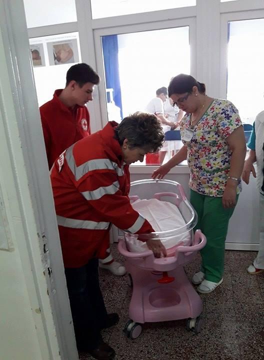 Peste 200 de lenjerii şi şase pătuţuri noi la Spitalul Judeţean Tulcea