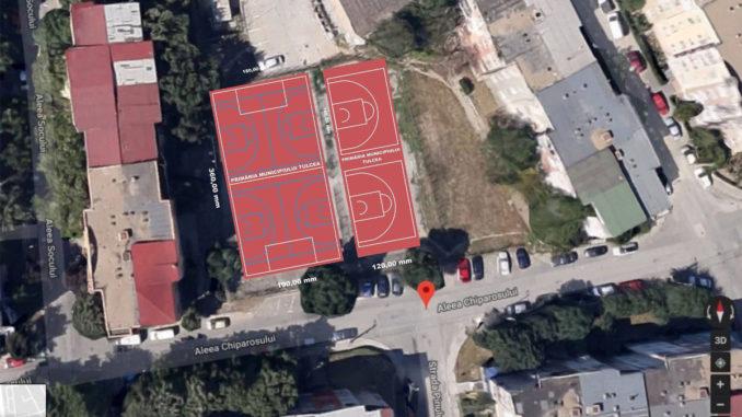 Tulcenii vor avea un nou teren de sport în municipiu