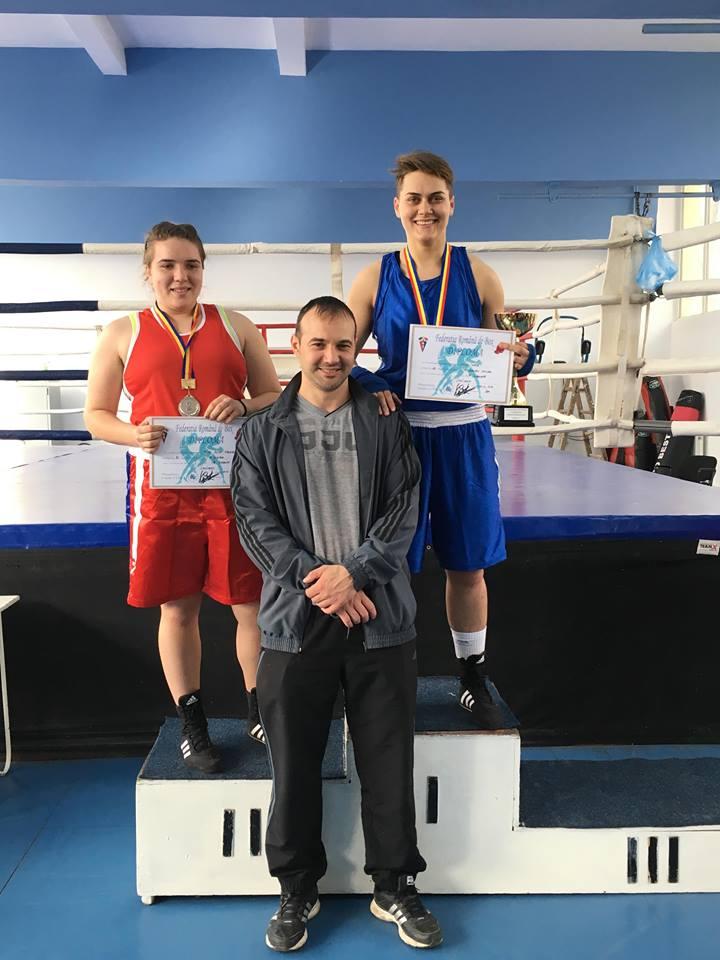Cupa României la box feminin: 16 medalii de aur, argint şi bronz pentru pugilistele de la CSM Danubiu Tulcea