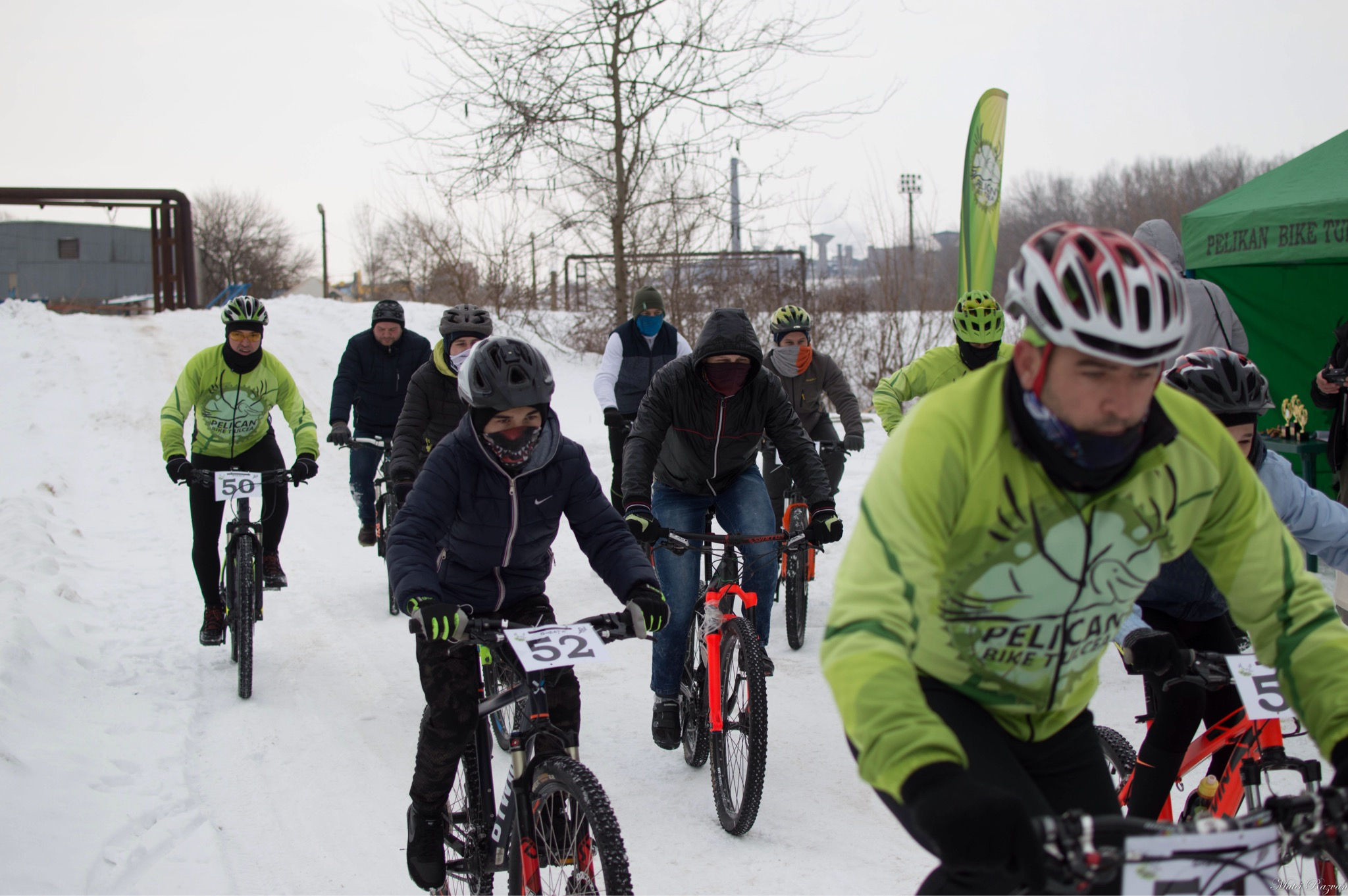 """Ciclism: """"Tura de gheaţă"""" şi-a desemnat campionii"""