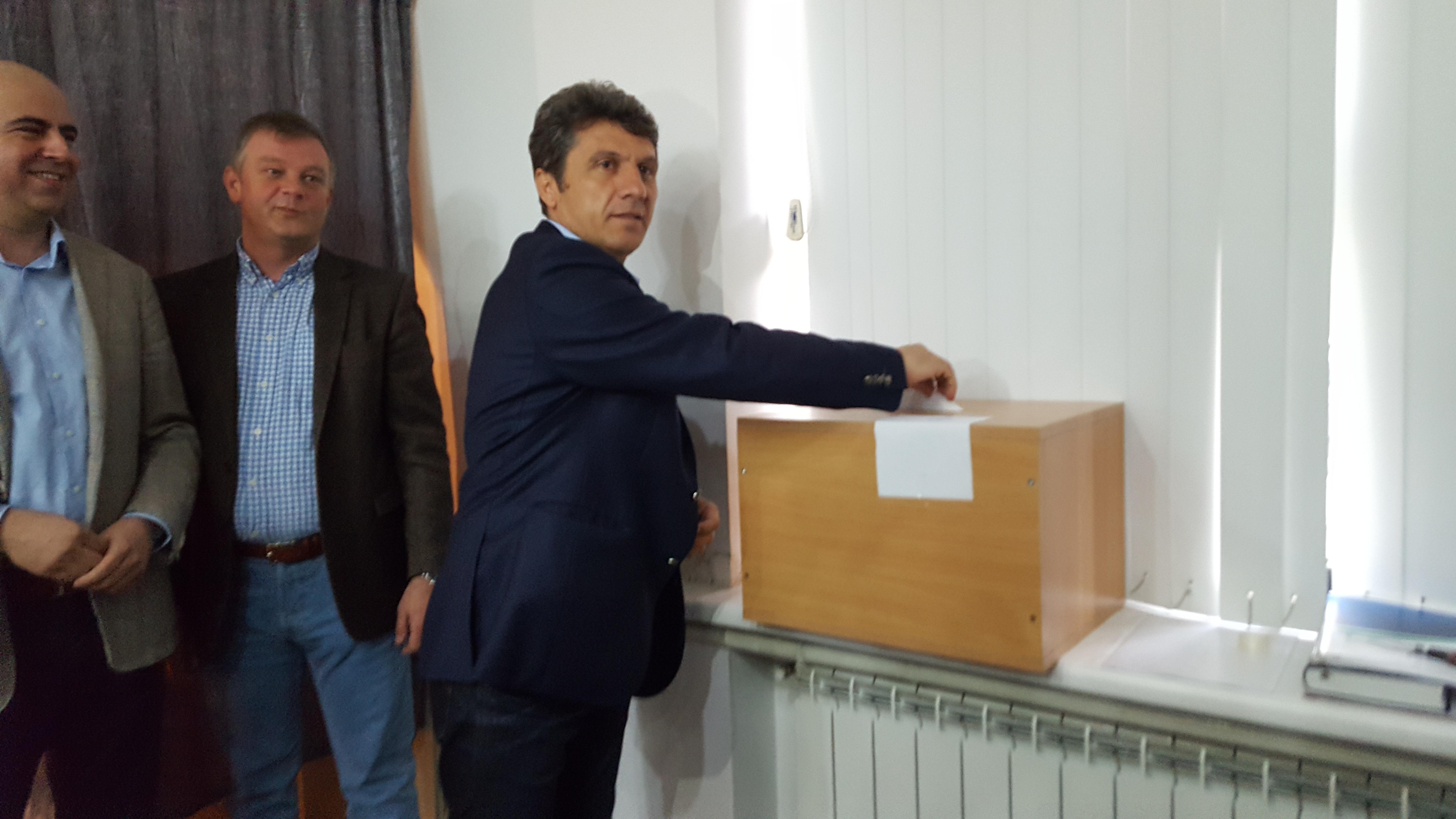 Noul vicepreşedinte al CJ Tulcea este Petre Badea