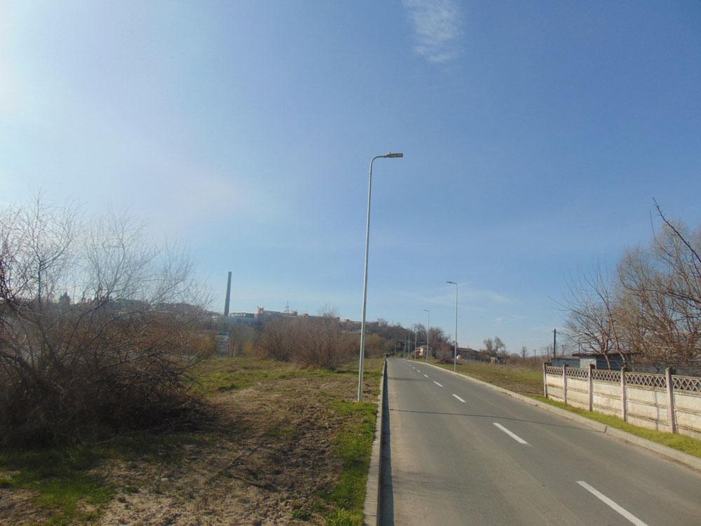 Iluminat stradal de ultimă generaţie în zona Bazinului de înot şi a Casei Albastre din municipiu