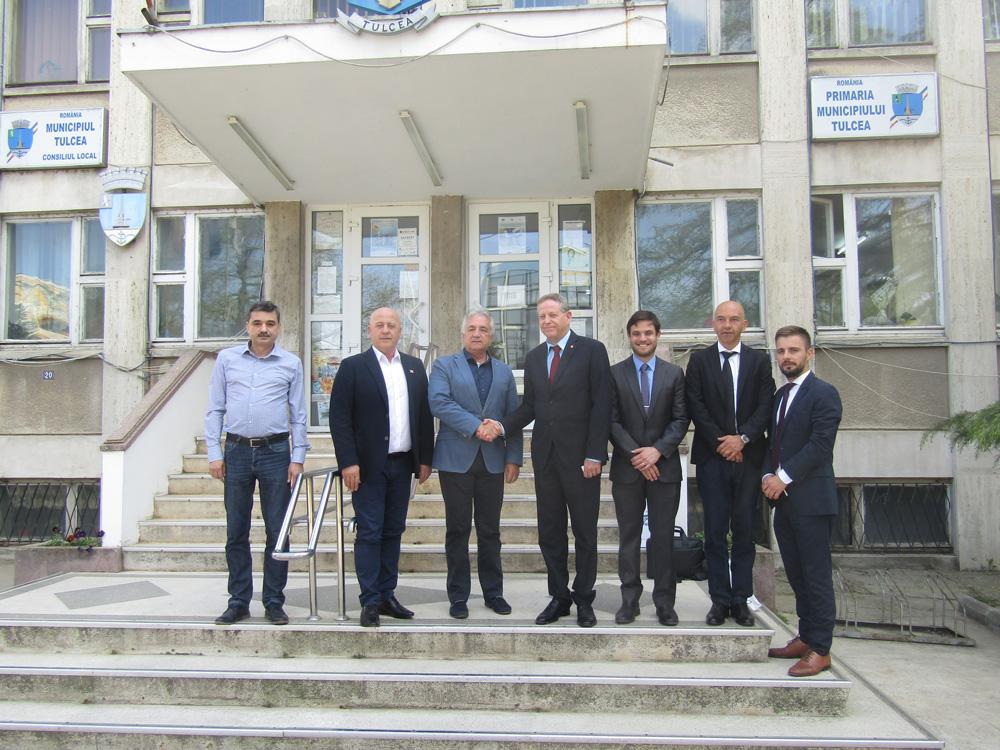 Investitori israelieni, interesaţi de modernizarea sistemului de încălzire centralizată din Tulcea