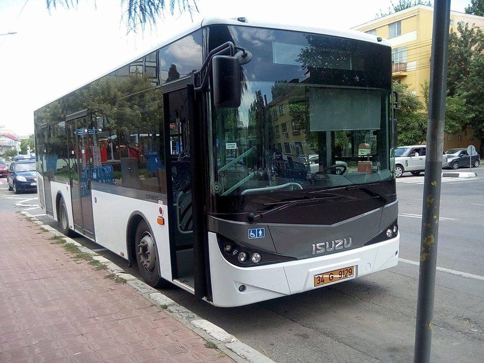 Cinci autobuze vor ajunge în municipiu în circa două săptămâni
